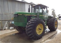 JD8450 4WD Tractor '85  3280HRS